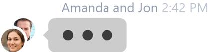 groupchat typing