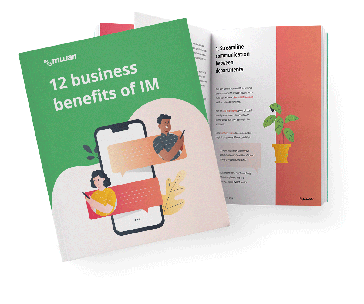 12 business benefits of IM